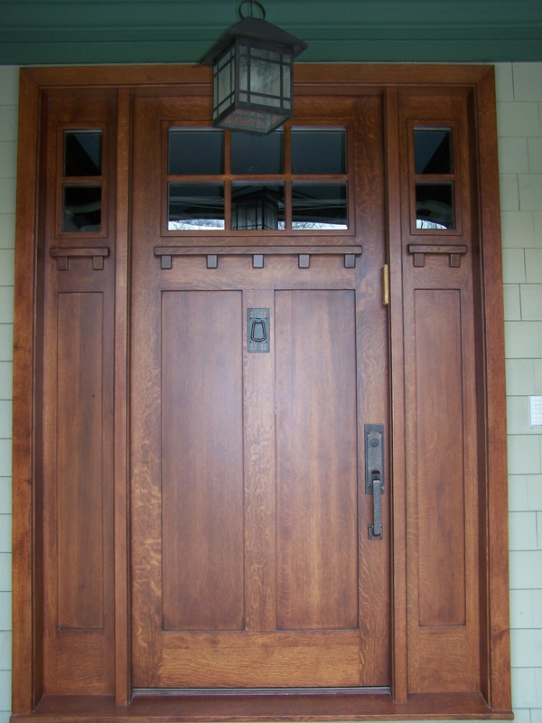 Custom Wood Exterior Entry Doors in Cleveland OH - Decker Custom ...